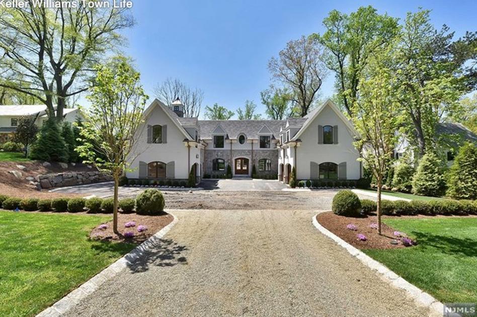 $3.795 Million Newly Built Stone & Stucco Mansion In Tenafly, NJ