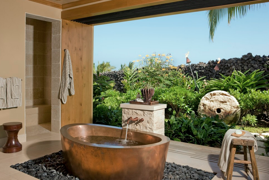 Divide Here Is A Look At 12 Awesome Indoor Outdoor Bathrooms