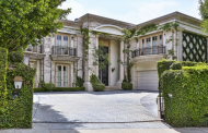 $12 Million Neoclassical Mansion In Beverly Hills, CA