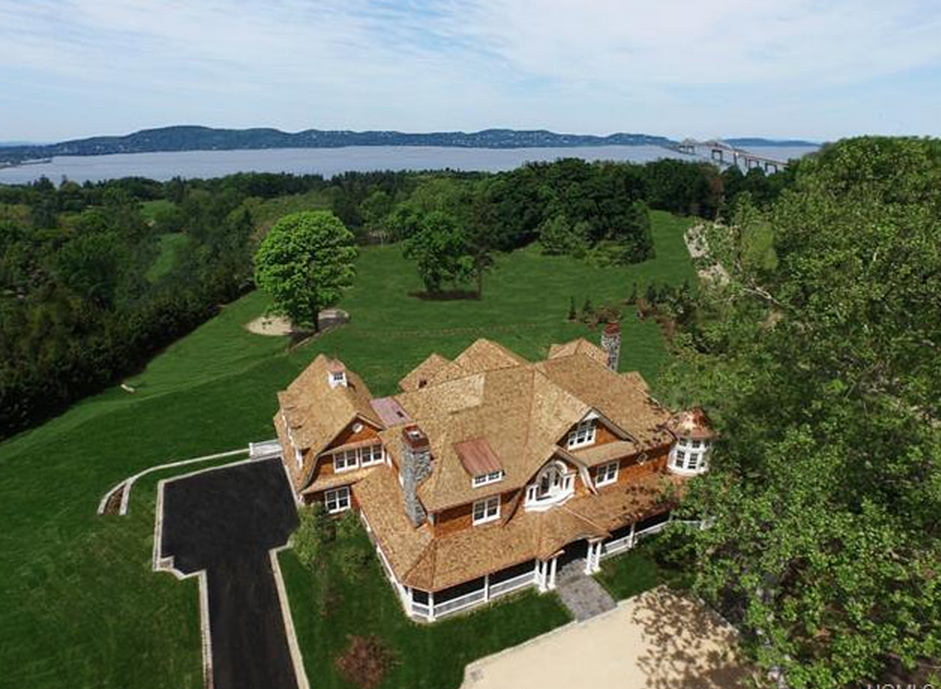 20,000 Square Foot Newly Built Shingle & Stone Mansion In Tarrytown, NY