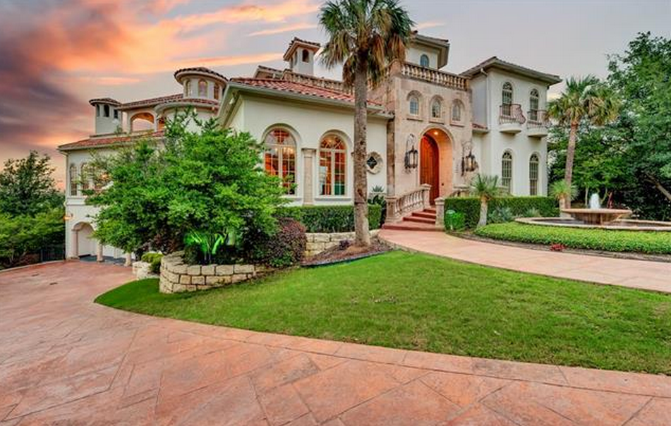 4 85 Million Mediterranean Mansion In Fort Worth Tx