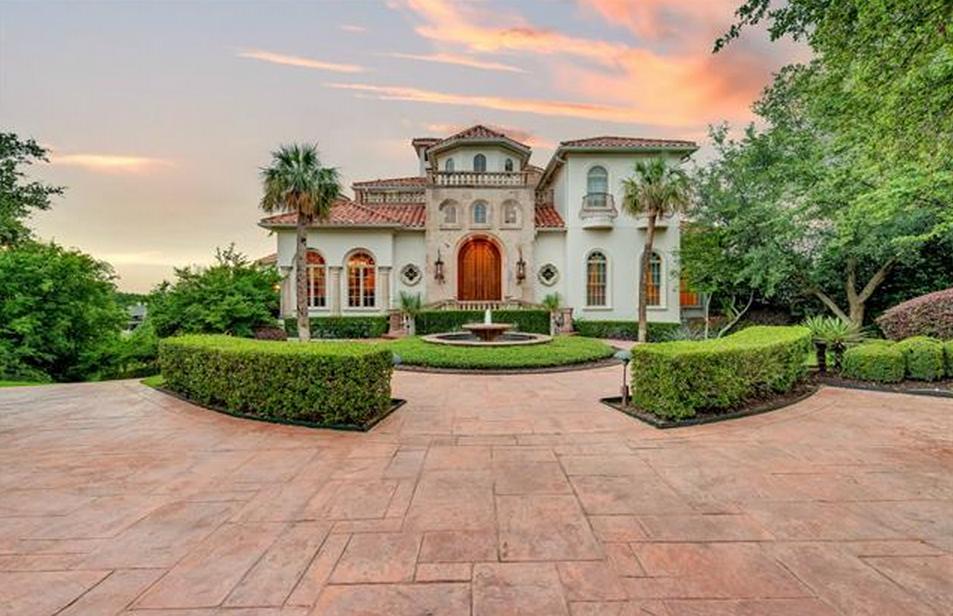 4 85 Million Mediterranean Mansion In Fort Worth Tx