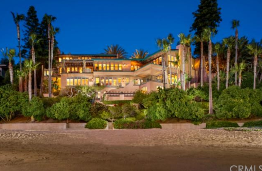 Villa Dei Tramonti A 51 Million Beachfront Mansion In Laguna Beach Ca