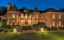 12,000 Square Foot Stately Brick Mansion In Franklin Lakes, NJ