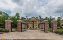 $2.2 Million Brick Mansion In Alpharetta, GA