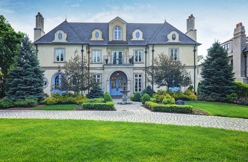 $4.2 Million French Inspired Home In Hinsdale, IL