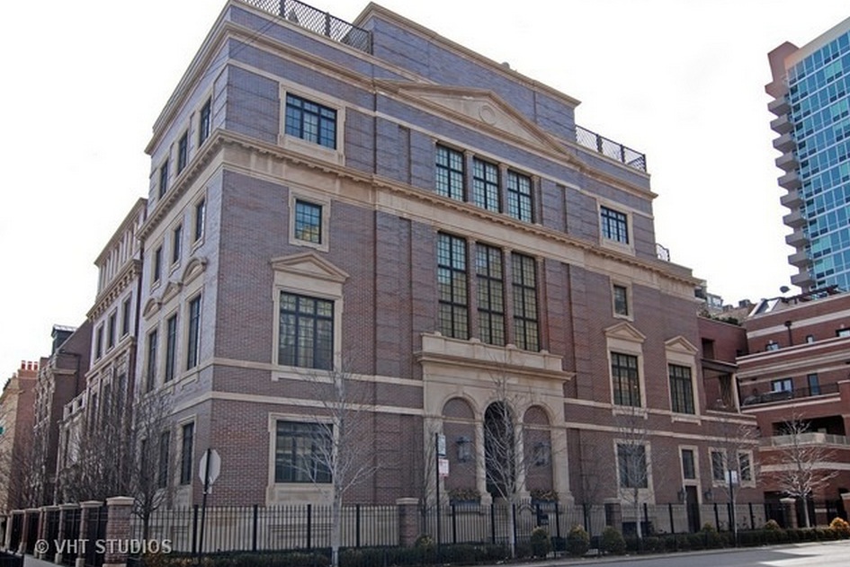11,000 Square Foot 6 Floor Mansion In Chicago, IL