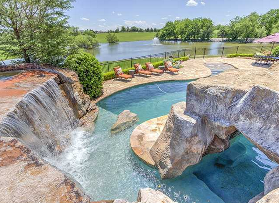 Million Brick Home On 16 Acres In Edmond Ok Homes Of The Rich The 1 Real Estate Blog