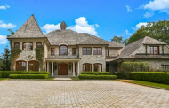 12,000 Square Foot Stone Mansion In Armonk, NY