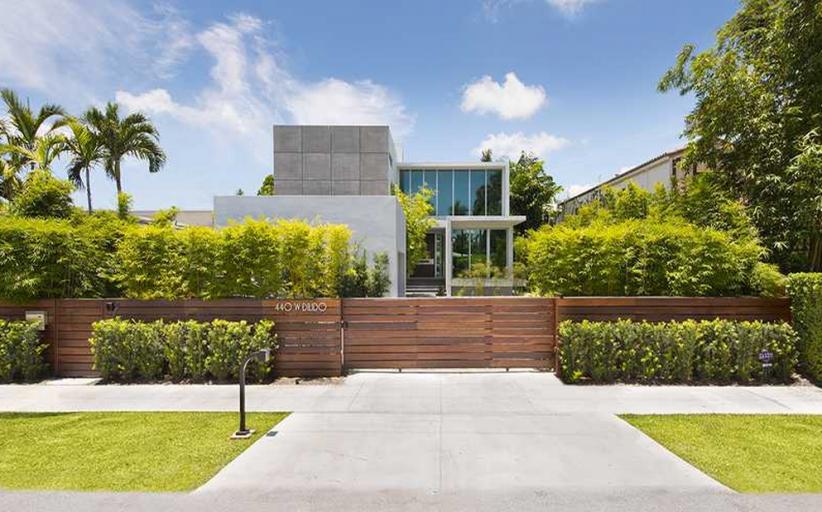 $11.499 Million Newly Built Modern Waterfront Home In Miami Beach, FL