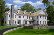 $8.575 Million Colonial Clapboard Mansion Under Construction In Greenwich, CT