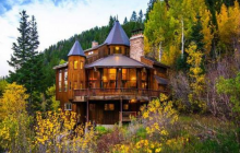 $2.94 Million Charming Mountaintop Home In Sundance, UT