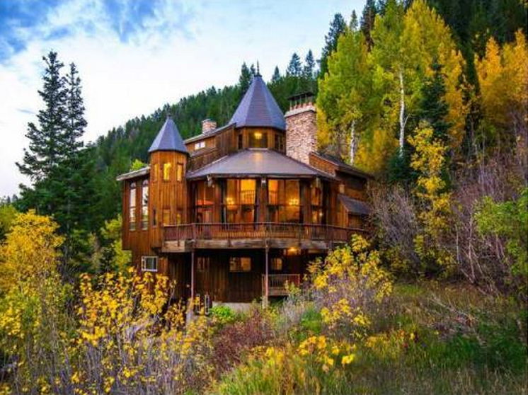 2 94 Million Charming Mountaintop Home In Sundance Ut