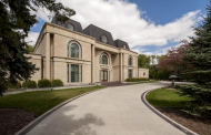 23,000 Square Foot Riverfront Mansion In Manitoba, Canada