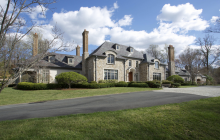 $6.5 Million French Country Style Stone & Stucco Mansion In Mendham, NJ