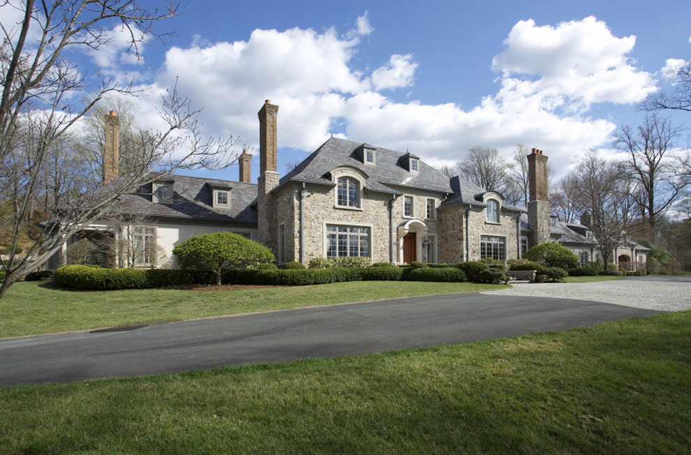 65 Million French Country Style Stone Stucco Mansion In Mendham NJ
