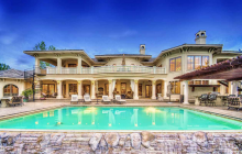 12,000 Square Foot Riverfront Mansion In Eagle, ID