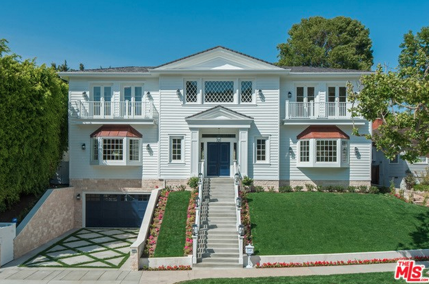 $6.995 Million Newly Built Cape Cod Style Mansion In Los Angeles, CA
