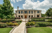 14,000 Square Foot Newly Listed Mansion In Dallas, TX