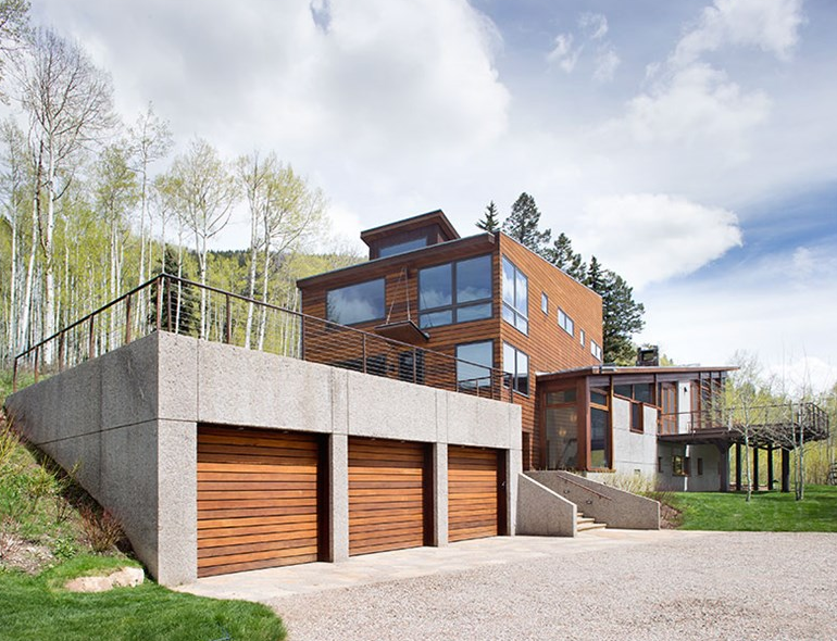 $7.95 Million Newly Listed Contemporary Home In Aspen, CO