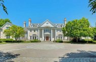 24,000 Square Foot Colonial Mansion In Oyster Bay, NY