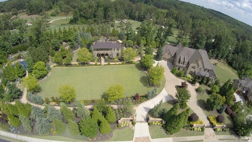$3.5 Million Country Club Estate In Milton, GA