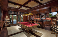 12 Billiards Rooms With Wet Bars