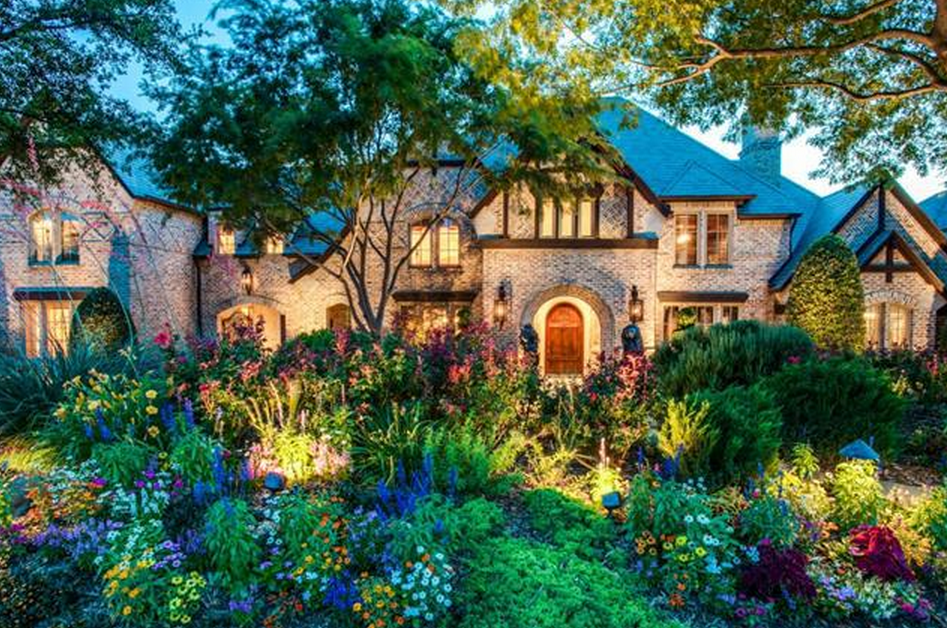 English tudor style brick mansion in frisco tx homes of for Tudor style house for sale