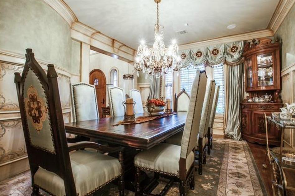 English Tudor Style Brick Mansion In Frisco TX