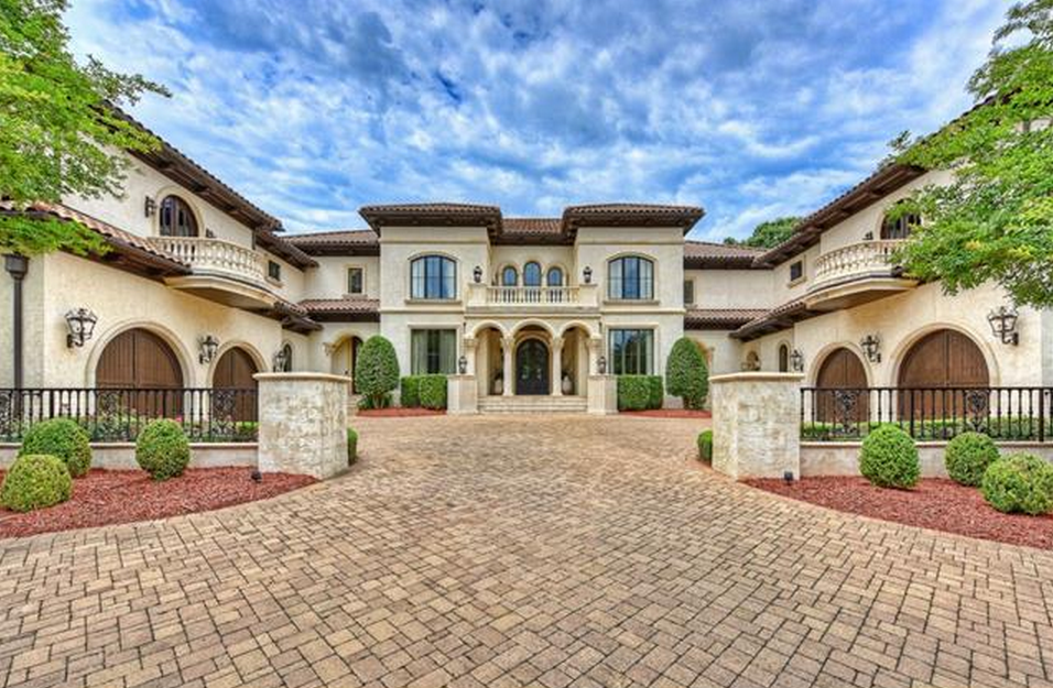 7 Million 14 000 Square Foot Country Club Mansion In