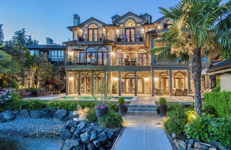 $6.288 Million Waterfront Mansion In Kirkland, WA