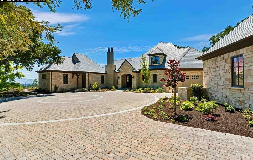 $6.5 Million Newly Built Stone Home In Lafayette, CA