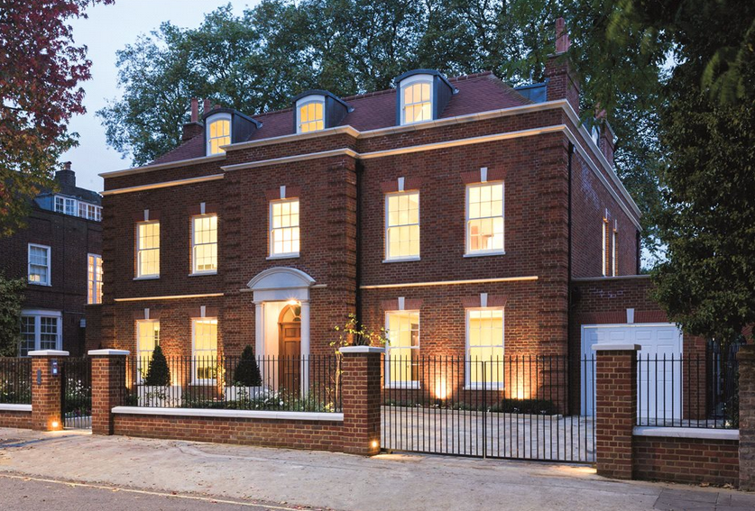 25 Million Newly Built Brick Mansion In London England