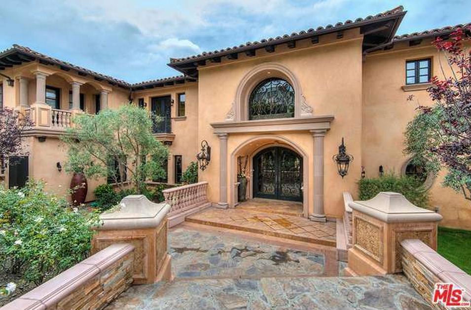 14,000 Square Foot Mediterranean Mansion In Los Angeles, CA – $60,000/Month
