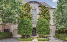 $3.675 Million French Inspired Home In Dallas, TX