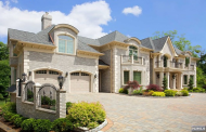 $3.9 Million Newly Built Brick Mansion In Franklin Lakes, NJ