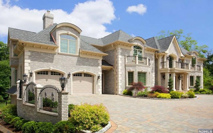 $3.9 Million Newly Built Brick Mansion In Franklin Lakes, NJ