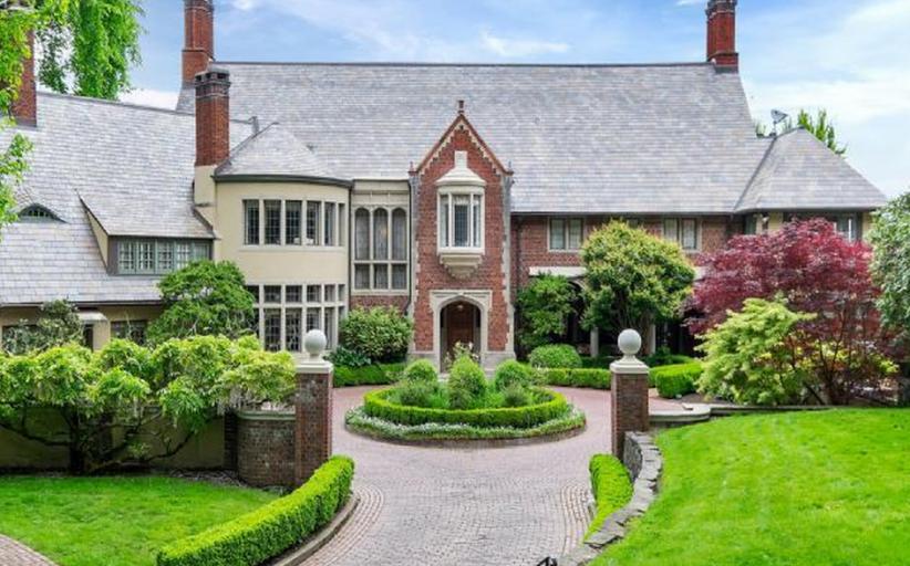 14,000 Square Foot Historic English Tudor Mansion In Portland, OR