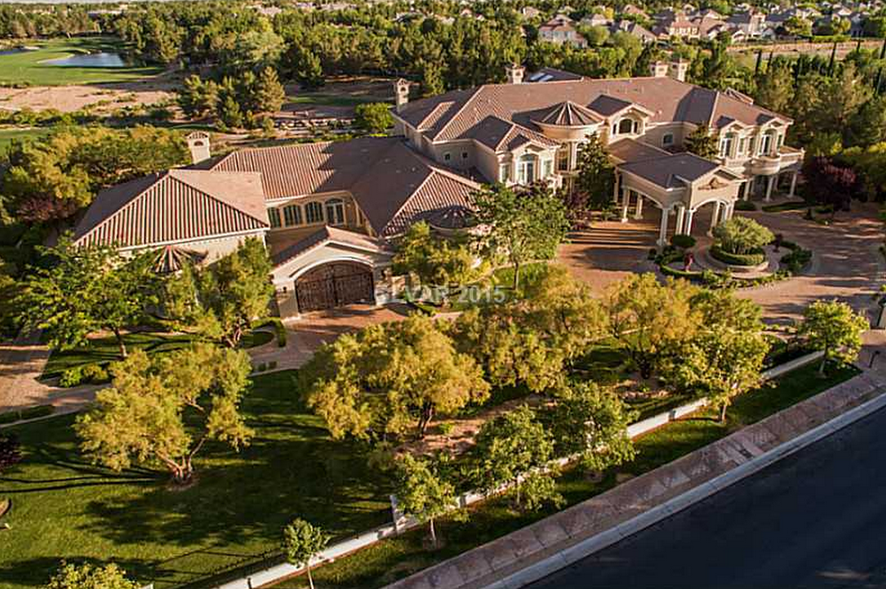 $9.95 Million 16,000 Square Foot Mansion In Las Vegas, NV