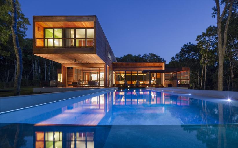 $5.95 Million Newly Built Contemporary Home In Southampton, NY