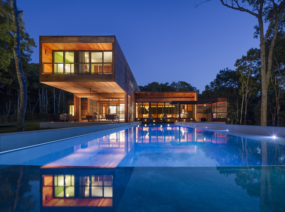 5 95 Million Newly Built Contemporary Home In Southampton Ny Homes Of The Rich