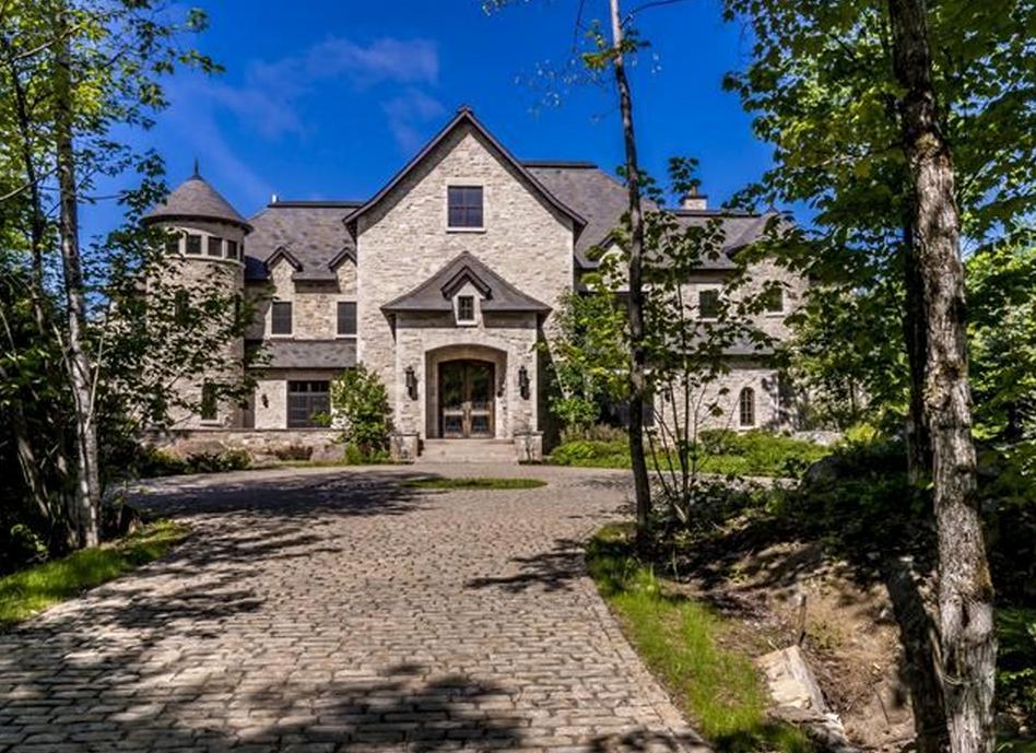 $12.9 Million Stone Mansion In Quebec, Canada