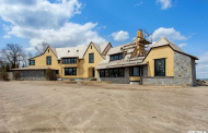 $12.9 Million Newly Built Shingle & Stone Mansion In Sands Point, NY