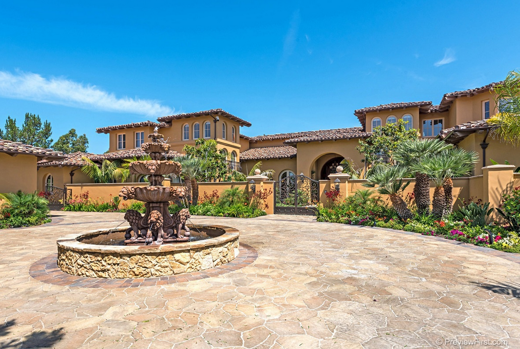 12 000 Square Foot Spanish Style Mansion In San Diego Ca
