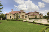 $2.595 Million Mediterranean Mansion In Flower Mound, TX
