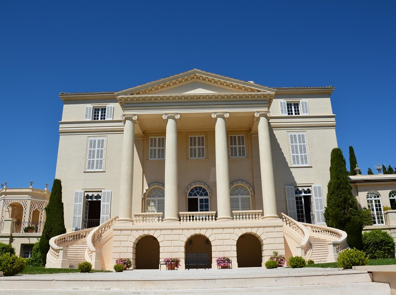 La Croix des Gardes – A Historic Castle In Cannes, France