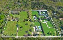 $55 Million Compound In East Hampton, NY