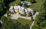 $5.8 Million French Inspired Mansion In Greenwich, CT