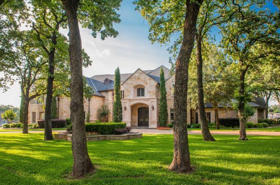 Beautiful Stone Mansion In Arlington, TX For Under $2 Million!