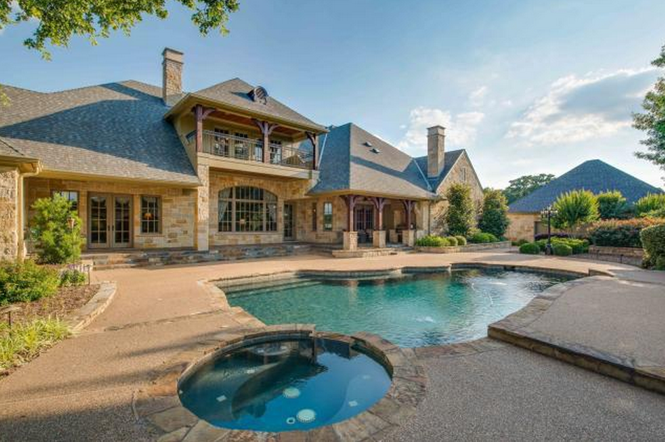 Beautiful Stone Mansion In Arlington Tx For Under 2